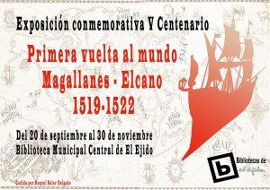Exposición conmemorativa V centenario: Primera vuelta al mundo